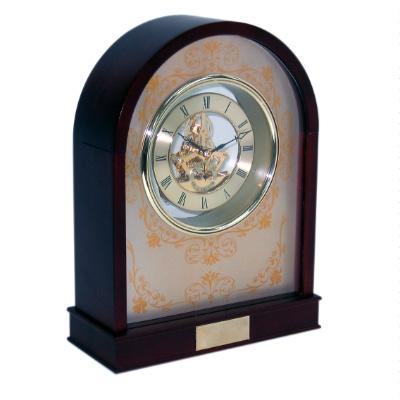 Wooden Skeleton Desk Clock 324 056